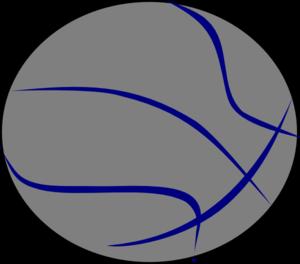 Grey clip art at. Blue clipart basketball