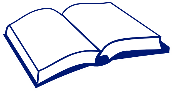 blue clipart bible