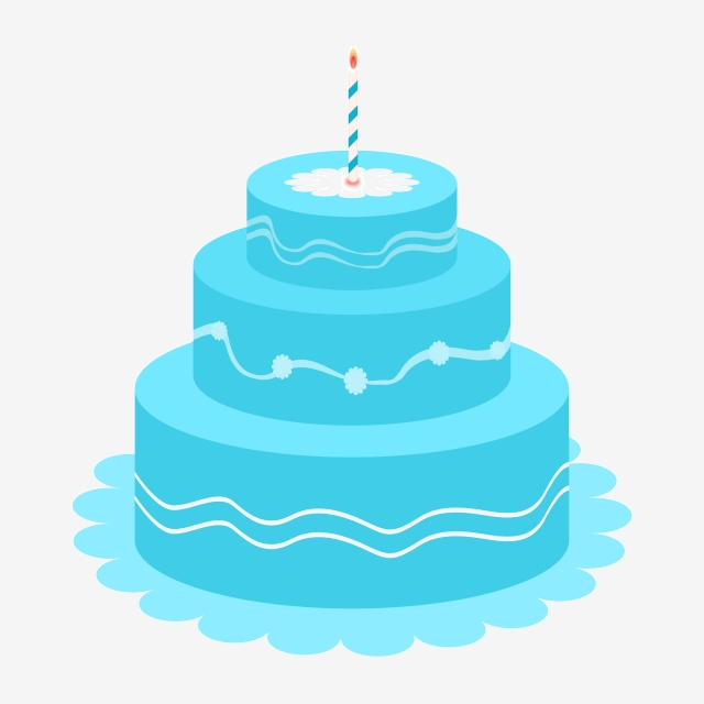 Sweets gourmet png . Blue clipart birthday cake