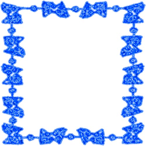 Blue clipart boarder. Free borders border white