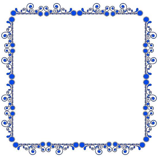 Blue clipart borderline. Free borders border clip