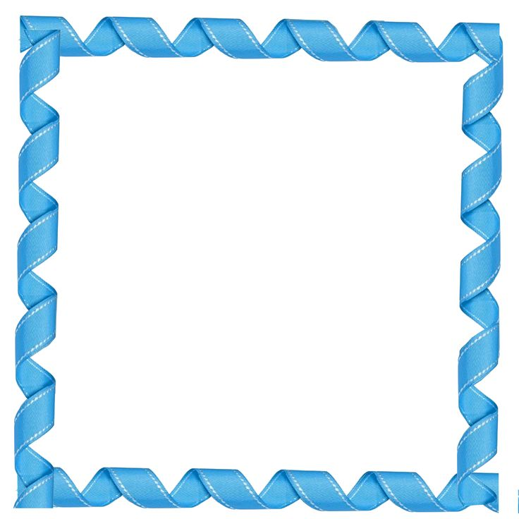 Free and frames download. Blue clipart borders