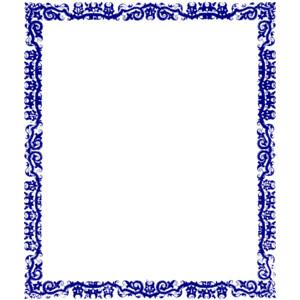 Clip art panda free. Blue clipart borders