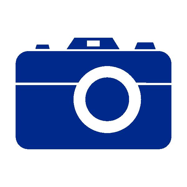 Color clipart blue. Camera no border clip