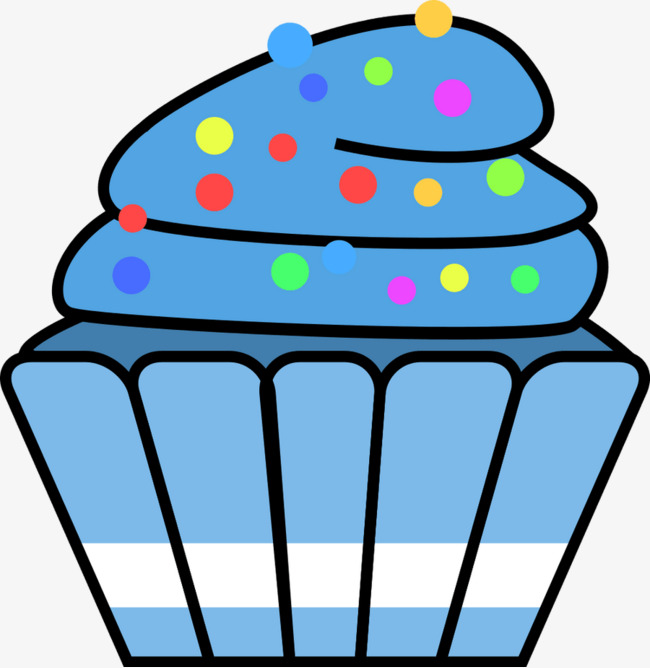 Blue clipart cupcake. Small cup graphic design