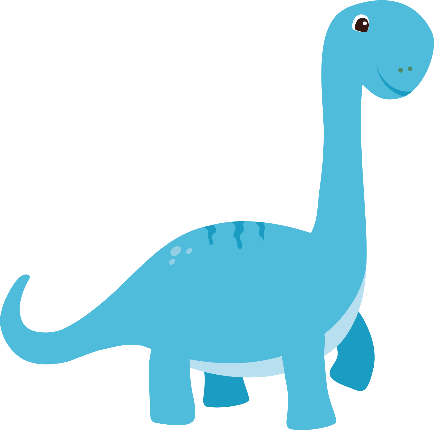 Euclidean clip art blue. Clipart dinosaur vector