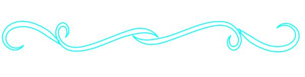 Blue clipart divider. Big clip art at