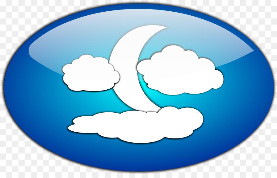 Supermoon cloud full moon. Blue clipart donut