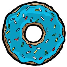 Blue clipart donut. Those days father donuts