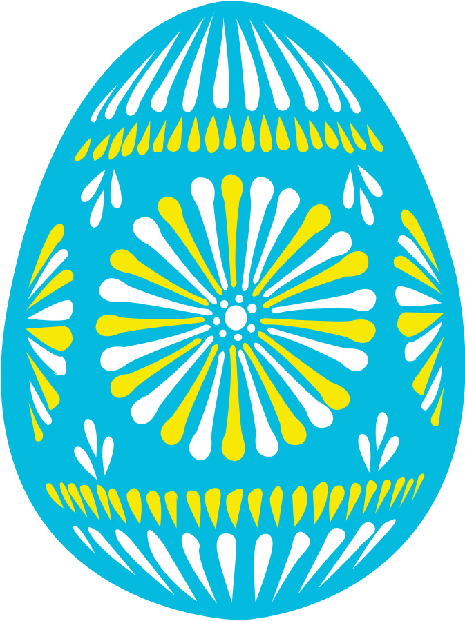 Size easter egg blue. Jelly clipart large