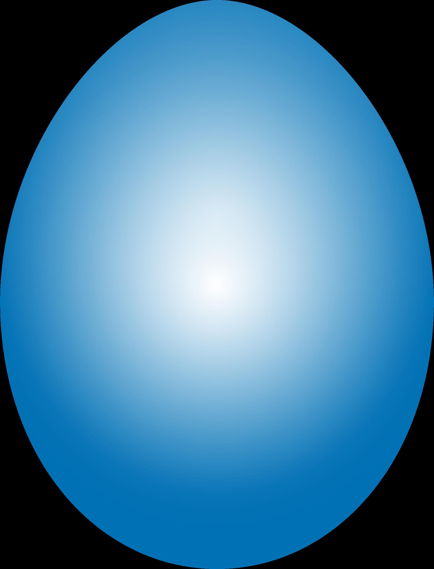 Big image png. Blue clipart easter egg
