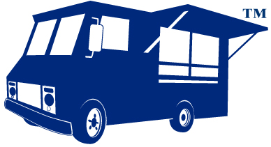 lunch clip art. Blue clipart food truck