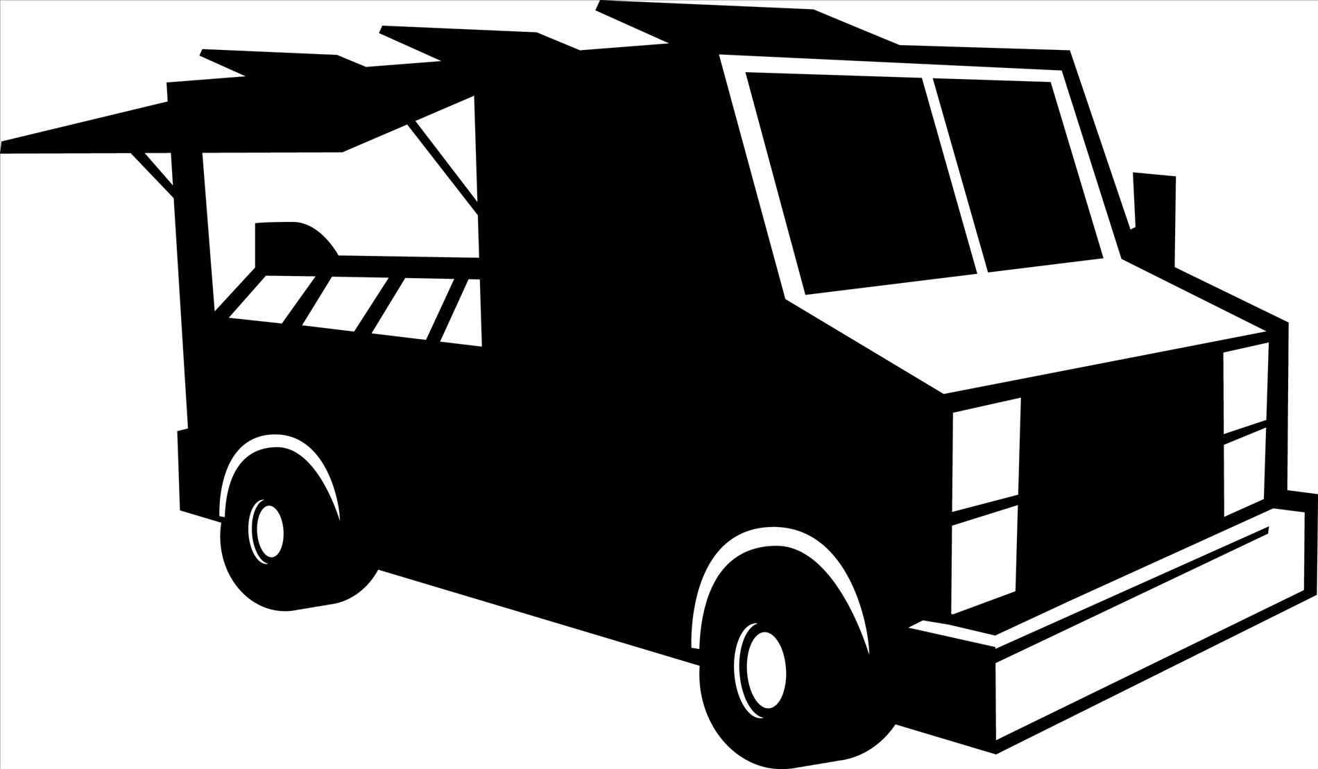 Blue clipart food truck. The images collection of