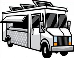 Jpg. Blue clipart food truck