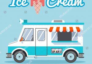 Blue clipart food truck. Ice cream arch dsgn