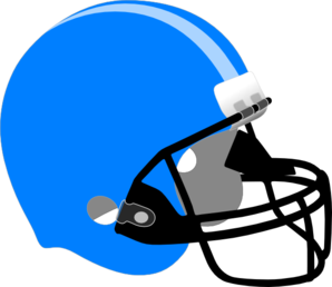 Blue clipart football. And gold helmet