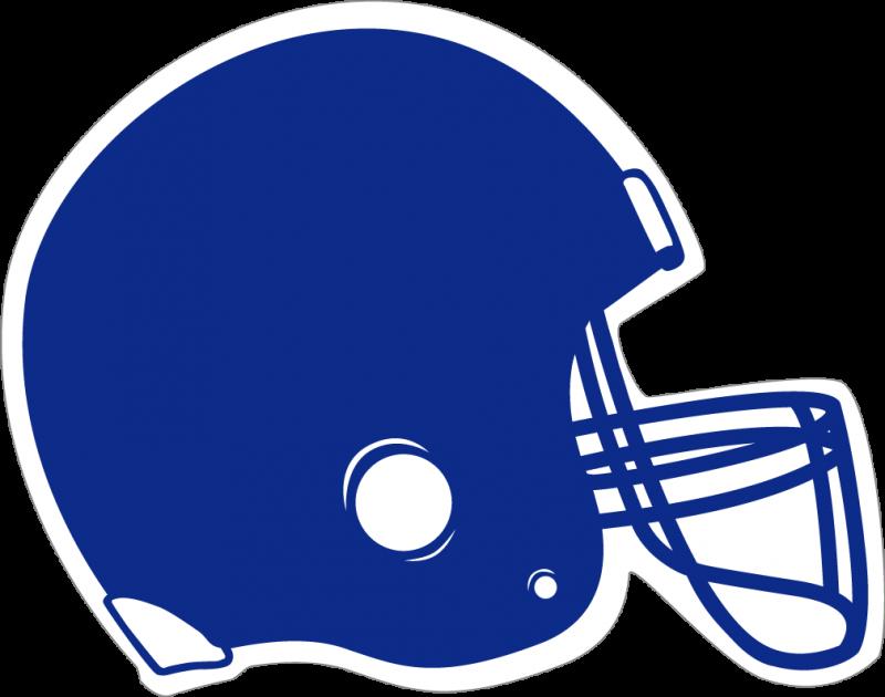 helmet clipart blue