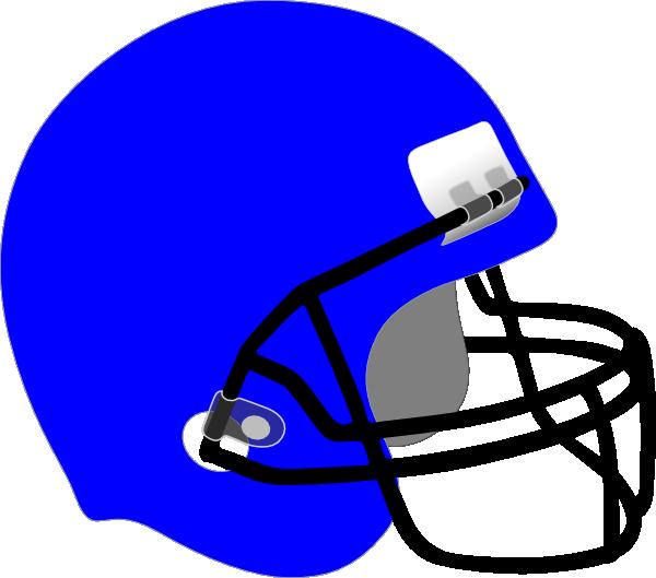 . Blue clipart football