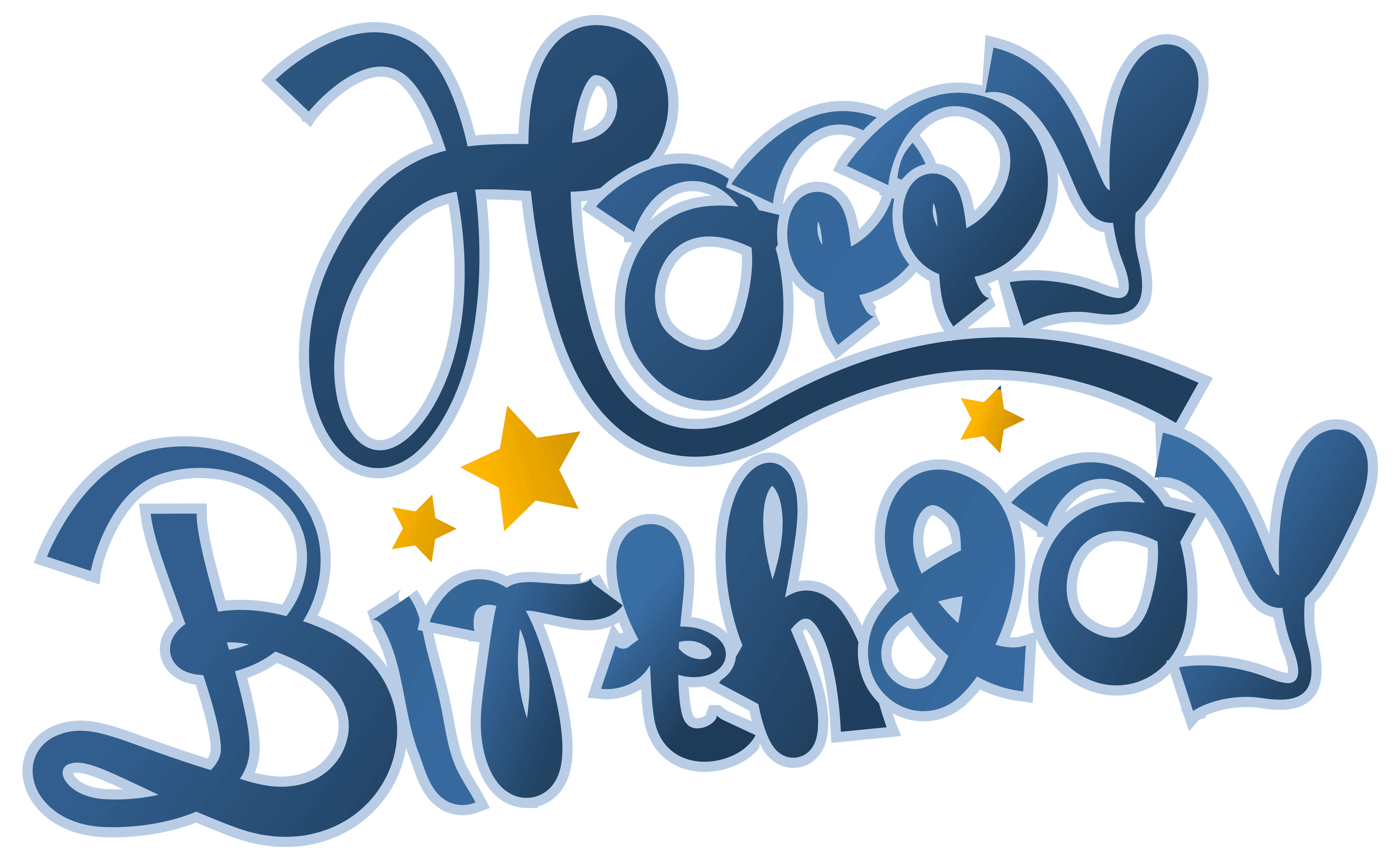 Happy picture gallery yopriceville. Clipart birthday blue