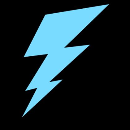 Images bolt roblox imageslightningboltclipartbluelightningbolt. Lightning clipart blue