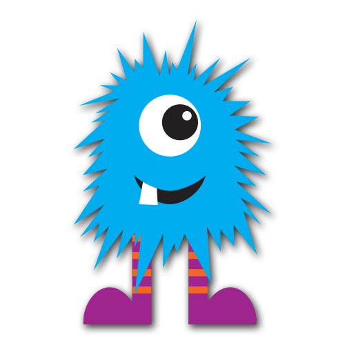 Blue clipart monsters. Free cute monster clip