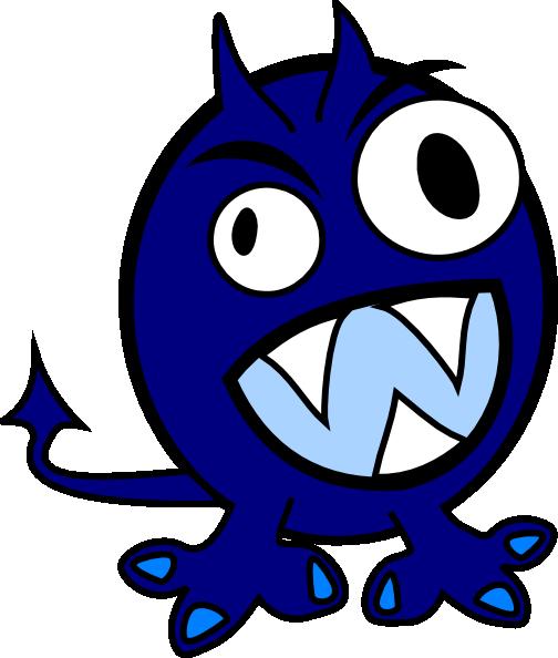Blue clipart monsters. Monster clip art at