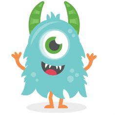 Blue clipart monsters. Monster clip art cartoon