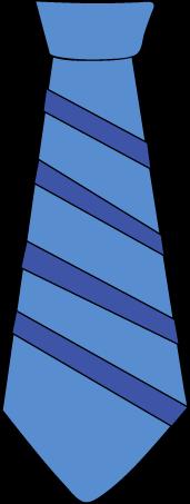 Clip art images striped. Blue clipart neck tie