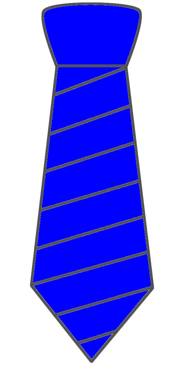Blue clipart neck tie. Necktie