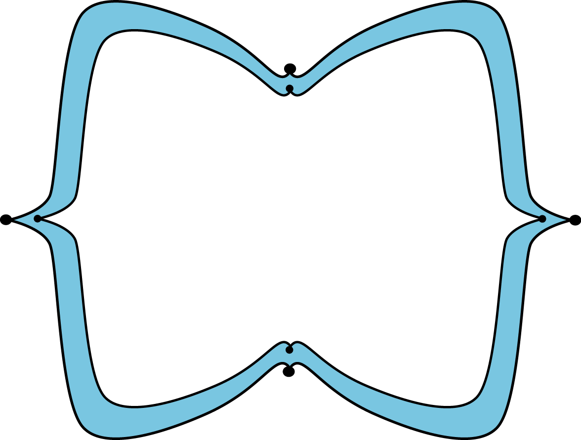 Blue clipart picture frame. Wide pointy free clip