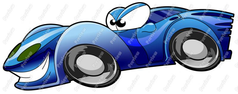 Blue clipart race car. Character clip art royalty