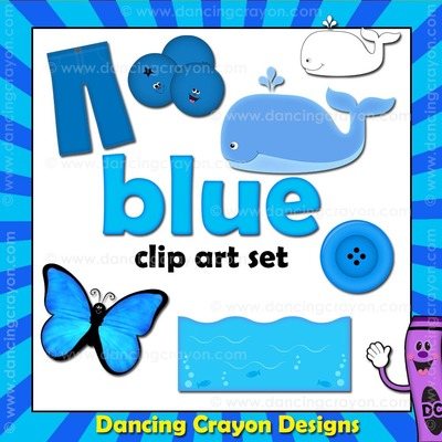 Blue clipart scribble. Things that are color