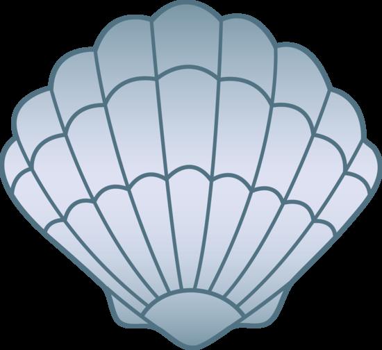 Blue clipart seashell. Name tag beginners pinterest