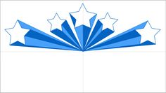 Blue clipart shooting star. Free stars graphics images
