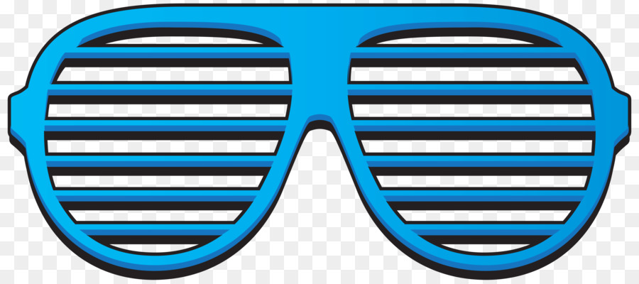 Shutter shades clip art. Blue clipart sunglasses