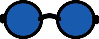 Blue clipart sunglasses. Clip art panda free