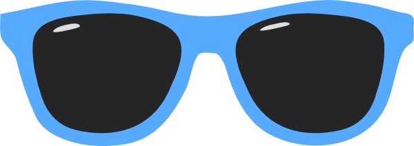 Blue clipart sunglasses. Free day cliparts download