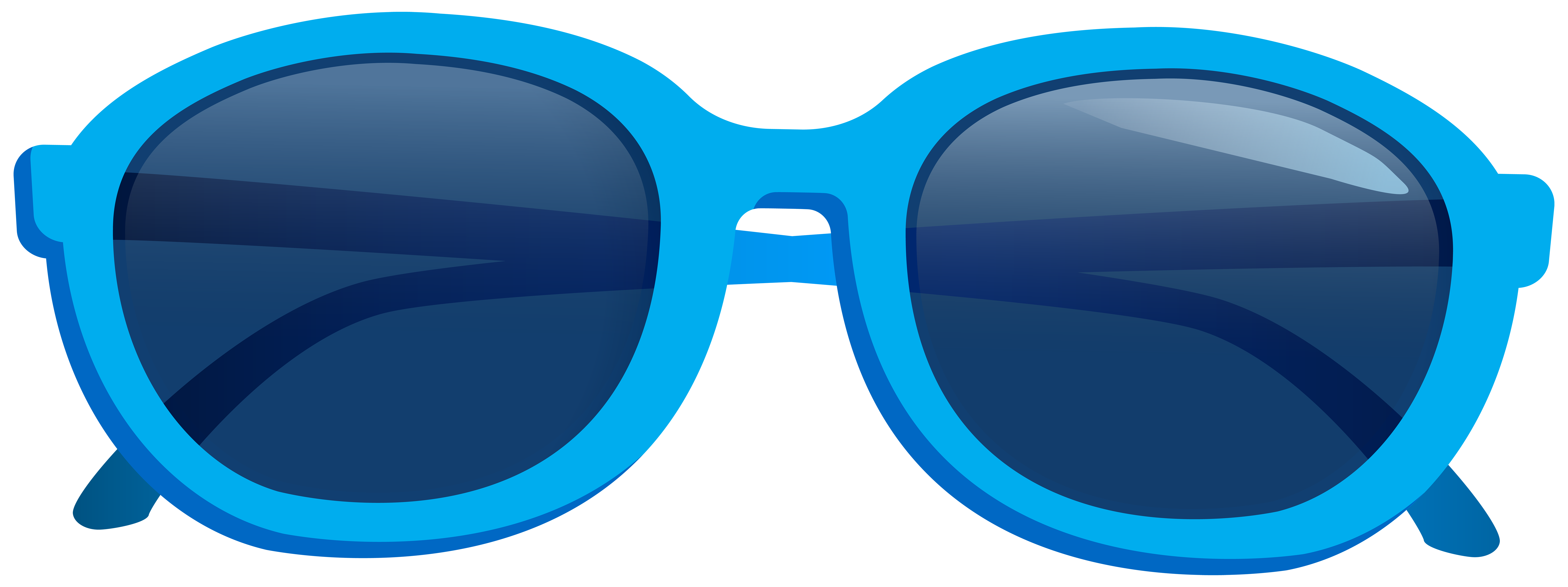 Png image gallery yopriceville. Blue clipart sunglasses