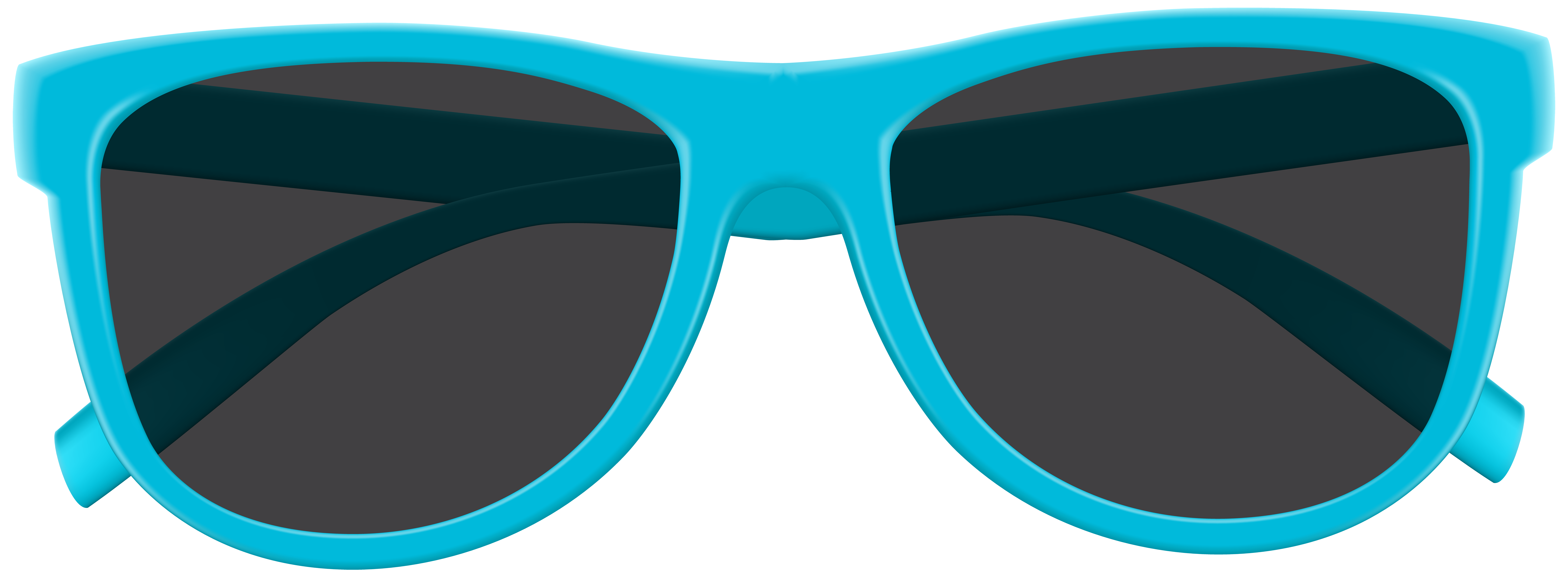 Sunglasses clipart. Blue png clip art