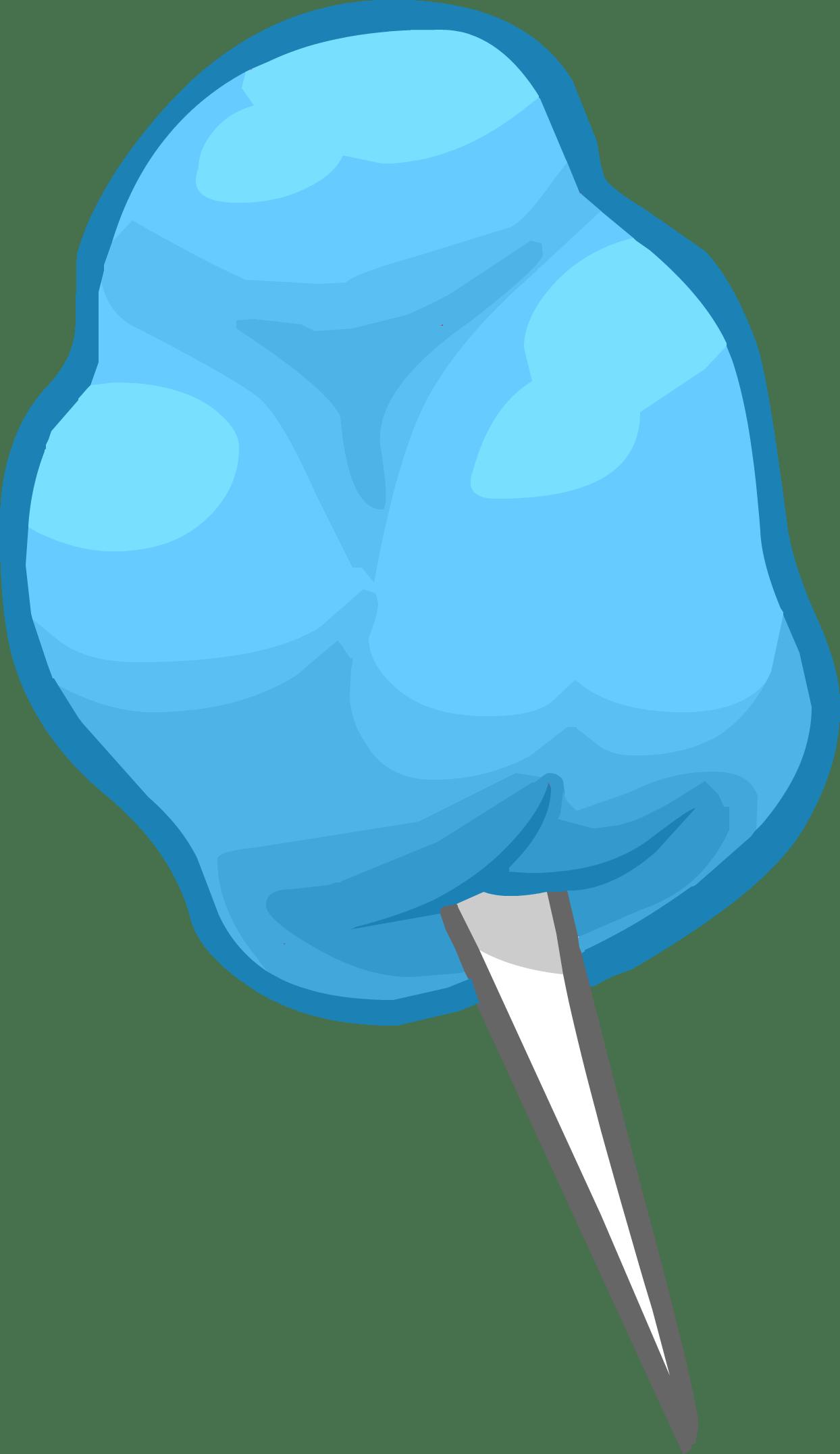 Lollipop clipart colourful. Blue cotton candy transparent