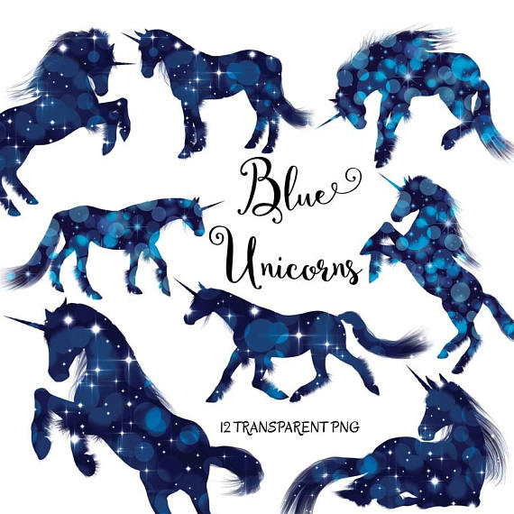 Blue clipart unicorn. Unicorns graphics
