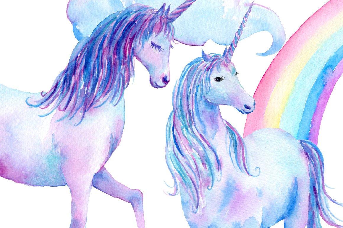 Blue clipart unicorn. Clip art over the