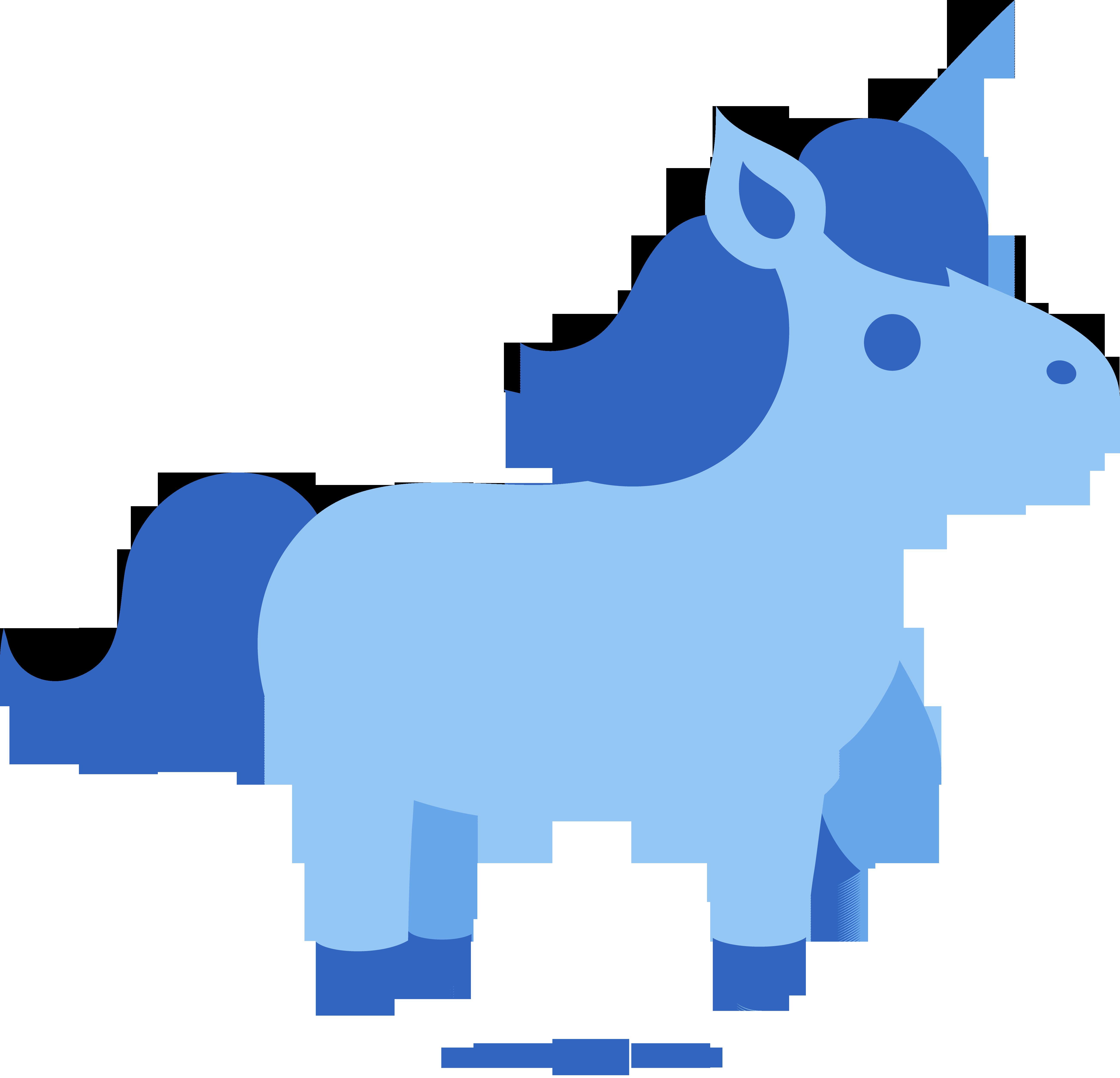 Orange clipart unicorn. Cute blue free clip