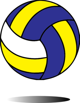 And yellow free provincial. Blue clipart volleyball