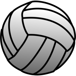Blue clipart volleyball. Clip art free images