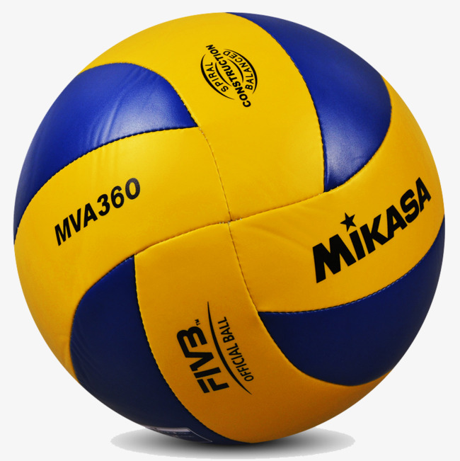 Yellow product in kind. Blue clipart volleyball