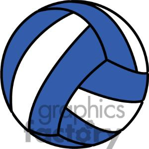 And white of . Blue clipart volleyball