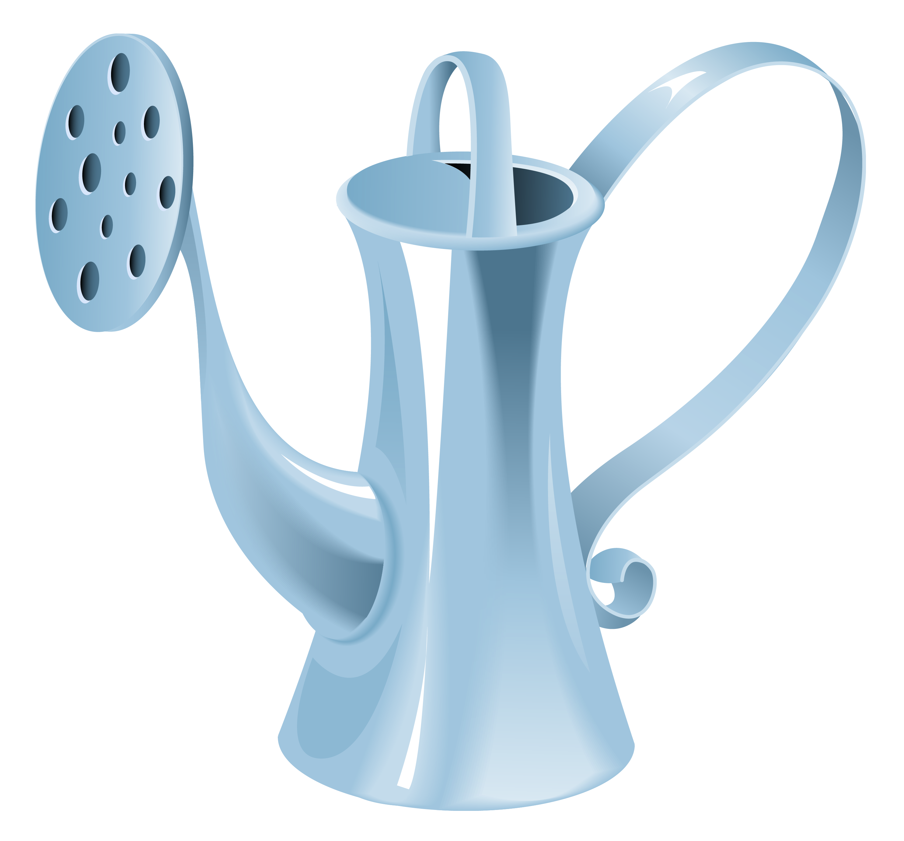 Water png gallery yopriceville. Blue clipart watering can