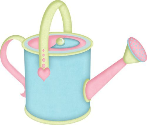 Blue clipart watering can. Images about clip art