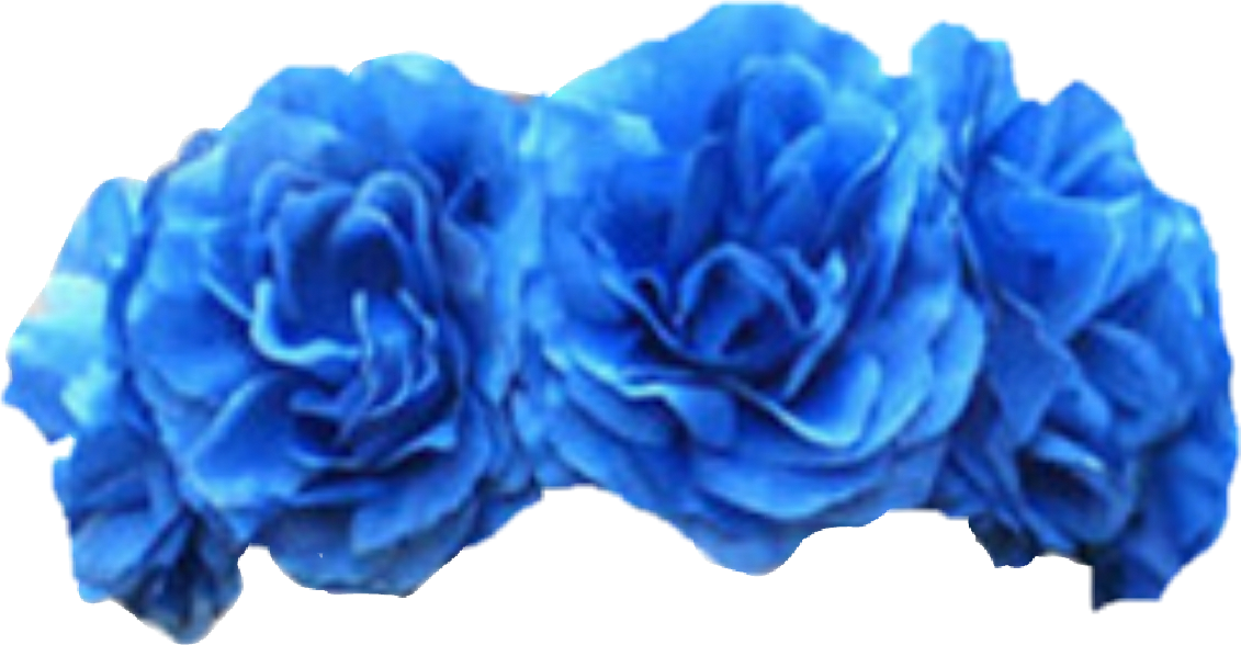 Tumblrtumblr tumblredit cd flowercrown. Blue flower crown png